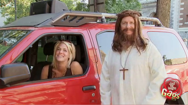 Auto, Startproblem, Motor, witzig, lustig, car, funny, jesus, witzig