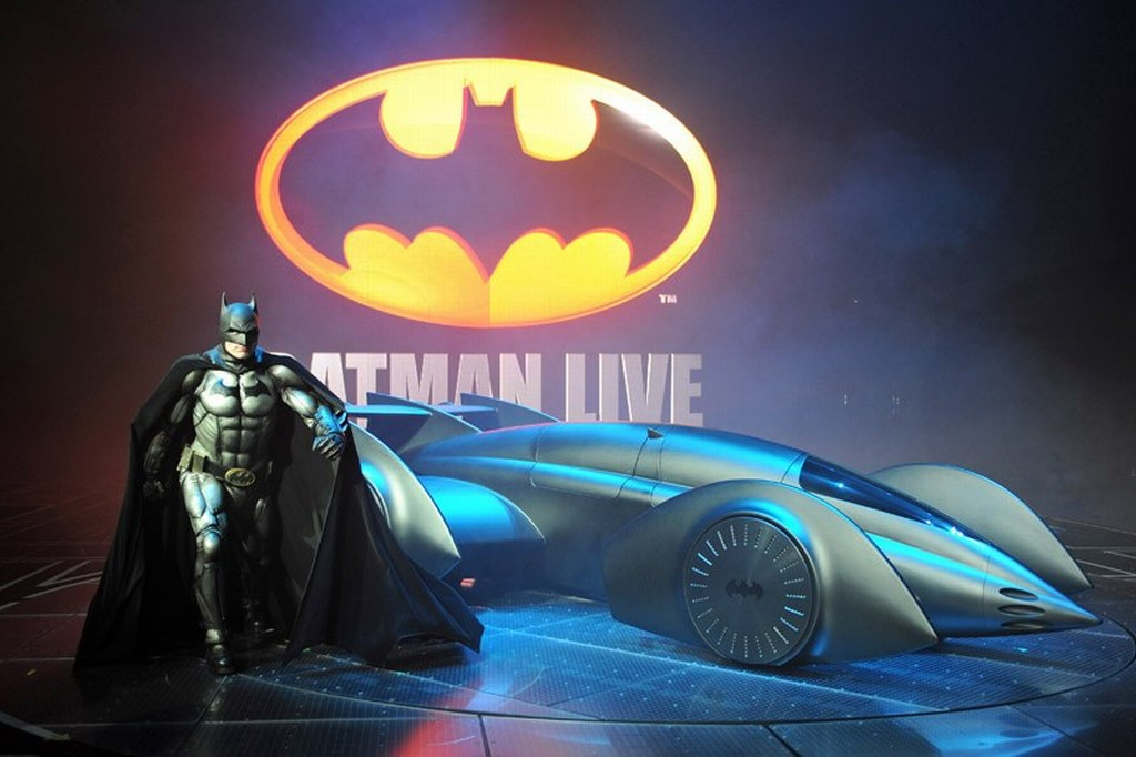 Batman, batman live, arena Abenteuer, show, 2012, Murray, Batmobile, dark knight, joker, robin, catwoman, gotham city, bilder, movie, video