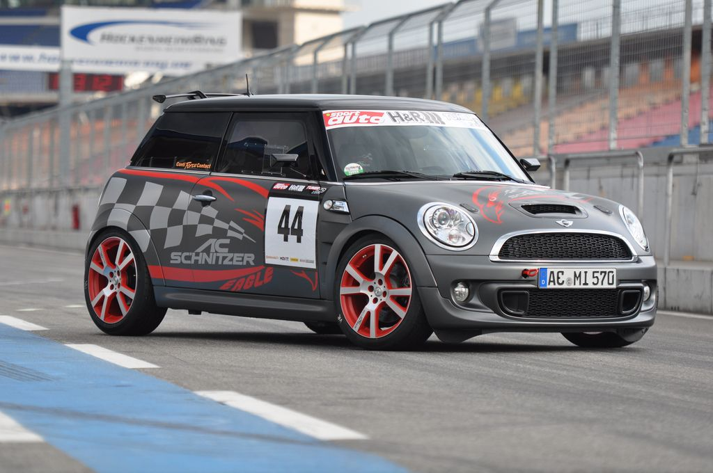 Tuner Grand Prix, Tuner, Gran Prix, Sportwagen, Mini, Cooper, Works, BMW, AC Schnitzer, Motortuning, Styling, rad, Felge, Zubeh&ouml;r, Abgasanlage, Sportabgasanlage, Fahrwerk 