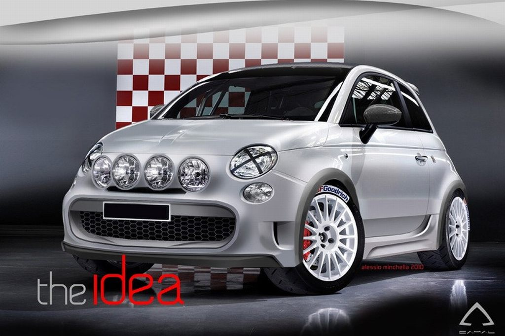 Fiat 500, Macia Corta, Pininfarina, Cinquecento, Tuning, Tuner, styling, zubhr, Spoiler, Design, Rallye, Sport, Extras, Abarth, Rallye monte carlo, Pininfarina