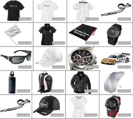 Mercedes-Benz, Selection, Motorsport selection 2011, Schumacher, Rosberg, Cap, Modellauto, shirt, tasche, Mode, DTM, Miniatur, Rennwagen, Collection, fanartikel