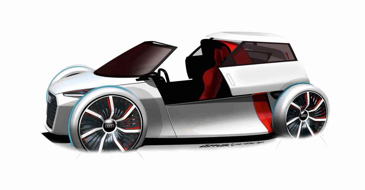 IAA, Concept car, designstudie, studie, prototyp, e-auto, elektro, E-Mobilitt, Urban Concept, Audi, elektrisch, emissionsfrei, debt, premiere