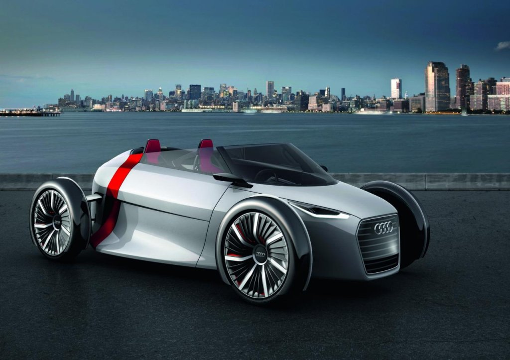 Audi, breaking, Concept car, ConceptCar, debt, designstudie, e-auto, E-Mobilitt, elektrisch, elektro, emissionsfrei, IAA, kabinenroller, premiere, prototyp, studie, Urban Concept, UrbanConcept, spyder, Kabine, bilder, IAA 2011, studie
