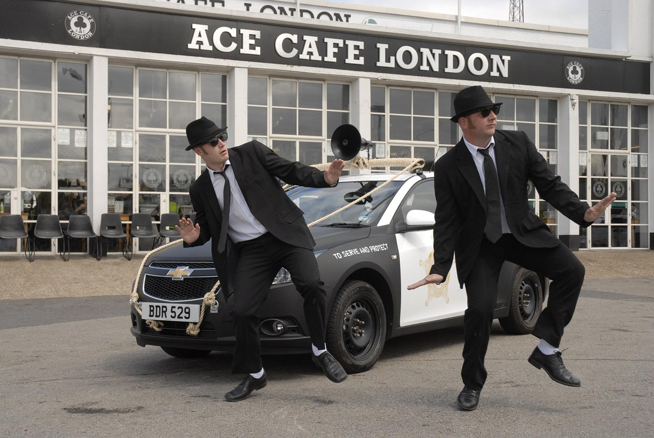 Chevrolet, Cruze, Geburtstag, 100 Jahre, Jubilum, Dodge, Blues Brothers, Cruze Brothers, Bilder