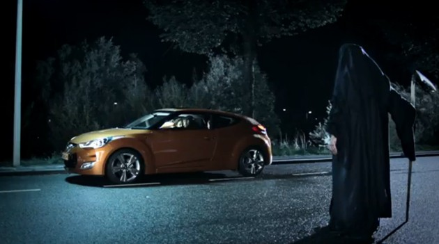 hyundai, Veloster, komisch, witzig, Werbung, TV, Autowerbung, komisch, video, zesur, zensiert