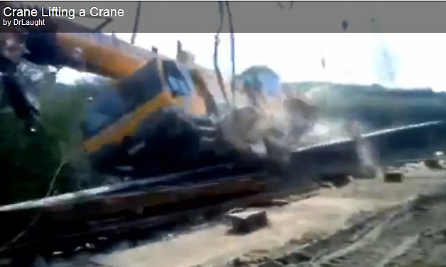 Unfall, video, crash, crane, kran, akranunfall, unglück, video