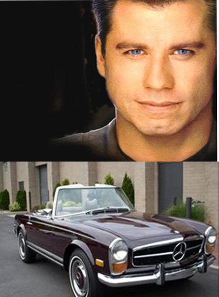 Car crime, John travolta, autodiebe,