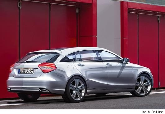 mercedes-benz, neues modell, c-klasse, gercht, clc, shooting brake, shooting break, IA, MFA, neues Modell, 2014