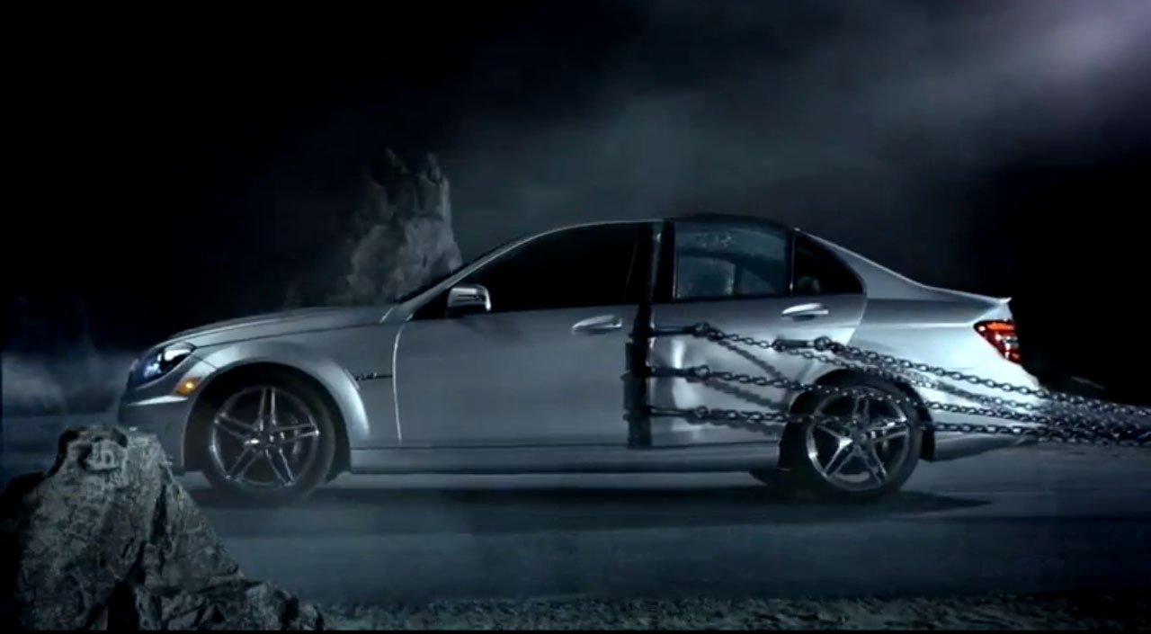 Mercedes-Benz, spot, TV, ad, commercial, video, USA, C-Klasse, c-class, Coup, film, witzig,