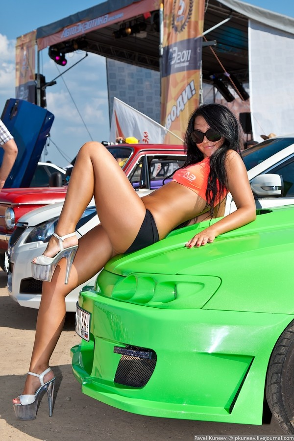 Tuning, Tuning girls, grid girls, Autotreffen, cars & girls, heels, wheels, sexy, sexy girls, babes, nackt, babes