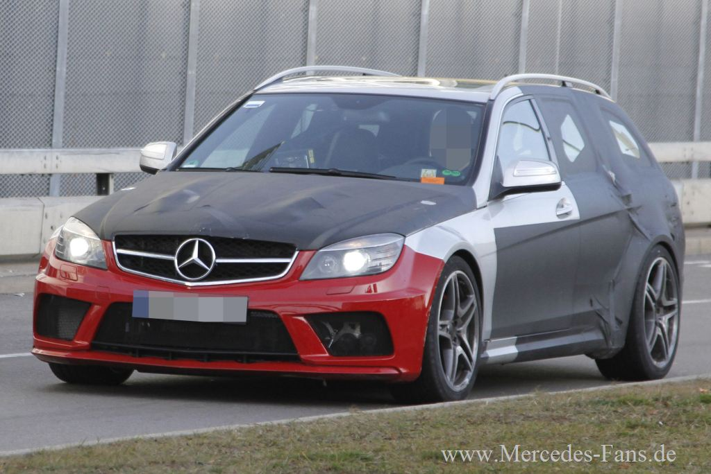 mercedes-Benz, Erlknig, C-Klasse, C63, Coup, Back Series, estate, T-Modell, Prototyp, Fotos, Bilder, Spy shot