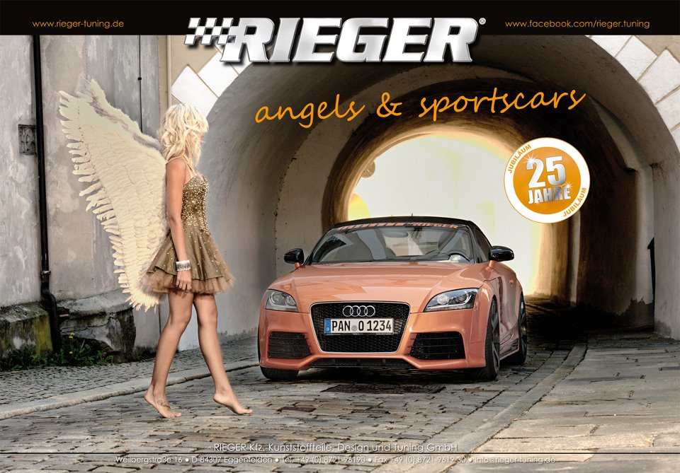 Rieger, Tuning, Angels and Sportscars, Kalender, Autokalender, Wandkalender 