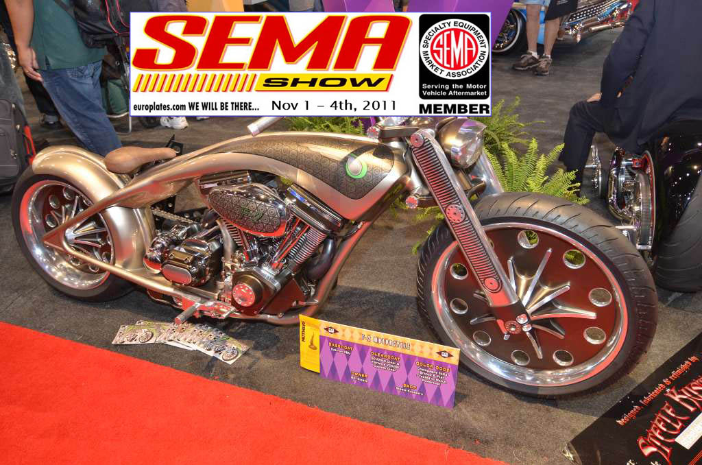 SEMA, Show, sema show, Las vegas, Bike, Custom, Bike, Fighter, hot rod, tuner, Tuning, Umbau, Dub, 2011 customizing, custom bike, US-Cars, Klassiker, Oldtimer, Auutozubehör, zubehör, styling