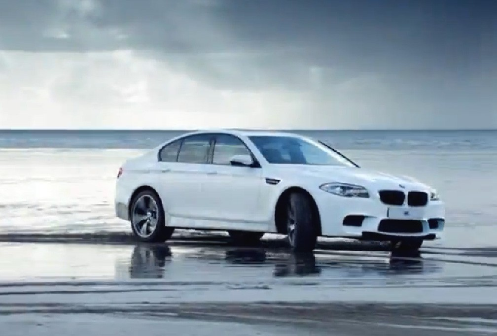 BMW, M5, Video, drift, BMW uk, Olmpische Spiele, 2012, Olympiad, Olympia, London, Powerslide