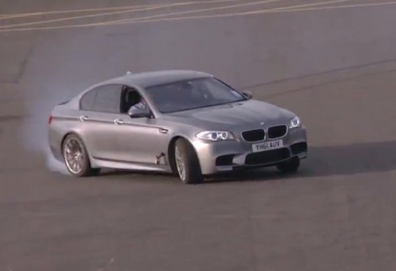 BMW, M5, 2012, Video, drift, Powerslide, V8, test, film, supercar, driften, drift-video.