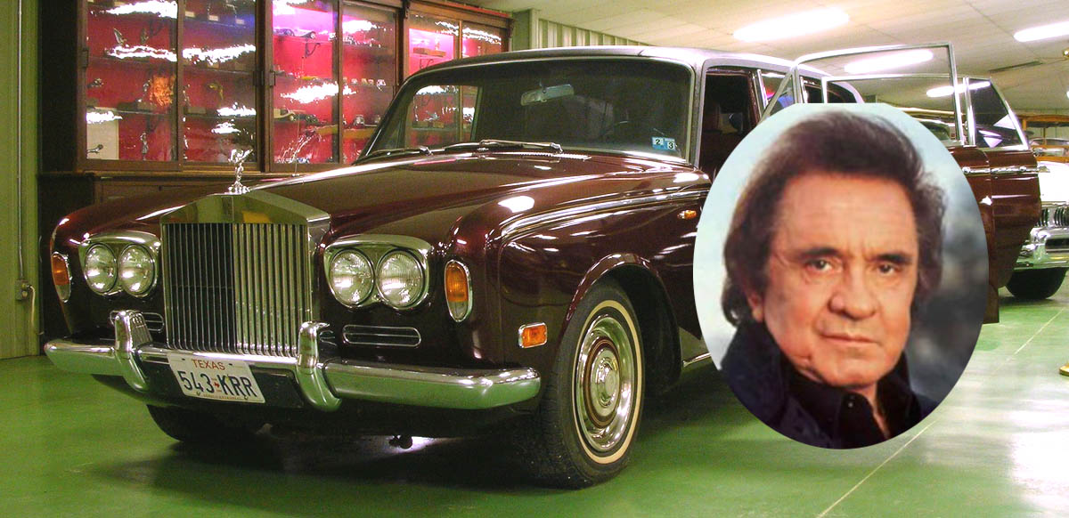 Johnny Cash, Man in black, mib, Highwayman,  highwaymen, Dan Kruse classics, Burdick, Versteigerung, Aktion, auction, ring of fire, Rolls Royce, Silver shadow, VIP, prominent, Promi