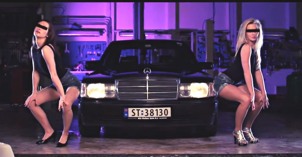 W201, Mercedes-Benz, Mercedes 190, baby Benz,  the mighty 190,  Musik, Musikvideo, Video, youtube, Hip-Hop, lustig, humor, funny