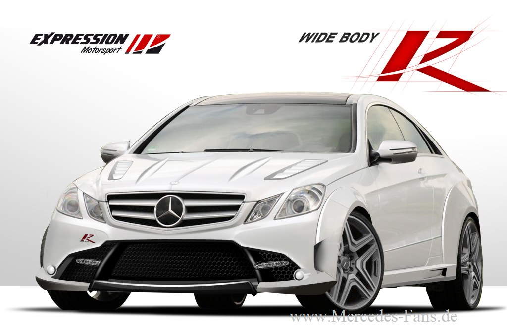 Expression Motorsport, M-Klasse, Mercedes-Bez, SLK, Breitbau, Wide Body-Kit, Body-Kit, Styling, Tuning, Tuner, Zubehr, Design Spoiler