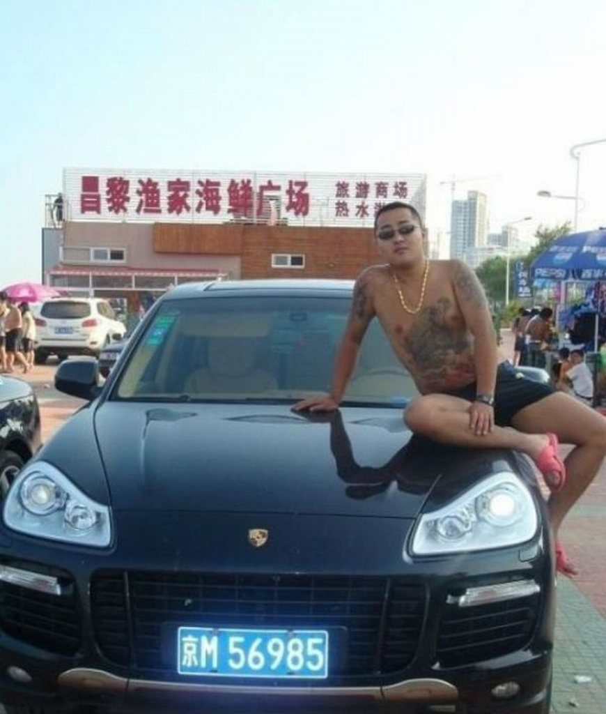 China, mafia, gangster, kriminell, Sportwagen, porsche, BMW, Fotos, car, crime