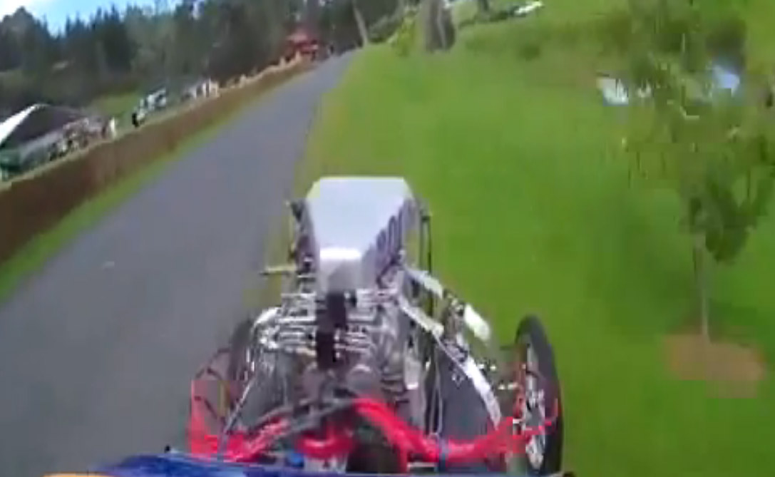 Dragster, Drag race, Drag racer, Unfall, crash, humor, video, auto, automobil, funny, komisch, lustig