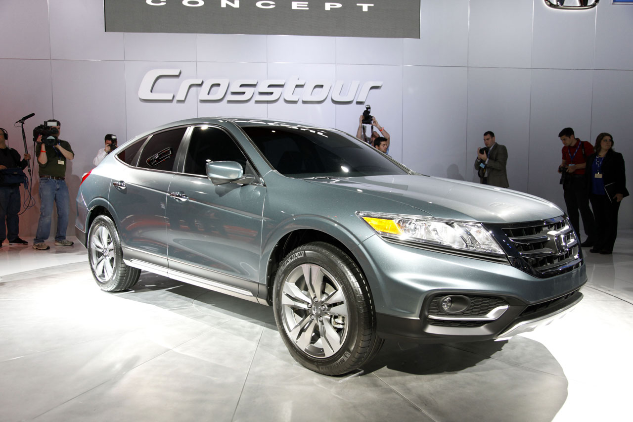 Honda Accord Crosstour, Crosstour, Premiere, New York International Auto show, NYIAS, New York Auto Show, Fotos, Bilder, debut, pics, debüt, allroad, alltrack, crossover,