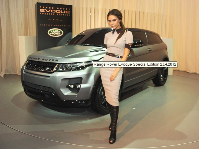 ange Rover Evoque, Range Rover Evoque Victoria Beckham,  Posh, Posh spice, david Beckham, vip,  SUV, Premium suv, Sondermodell, sonderedition, special edition, Celebrity, 
