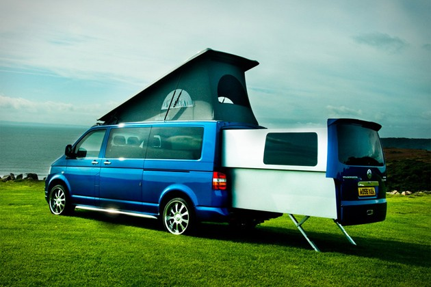 VW, T5, VW Bus, VW Transporter, Transporter, Van, Volkswagen, Doubleback, Camping, Camper, Trailer, WoMo, Wohnmobil, Pod, 