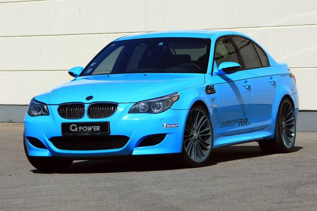 BMW, M5, Kompressor, Bi-Kompressor, Kompressor-Umbau, G-Power, Hurricane, G-Power Hurricane, RR, RRS, Tuner, Tuning, BMW Tuning, BMW Tuner, Motortuning, Leistungssteigerung, G-Power 