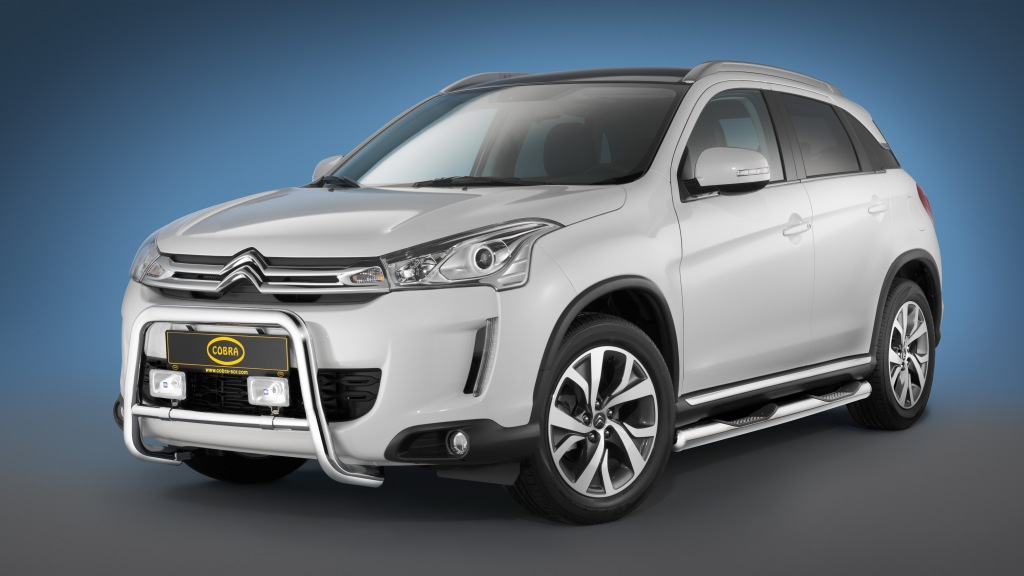 Citroen,  C4,  Aircross. Mitsubishi, ASX, Citroen C4 Aircross, Zubehr, Cobra, Stoschutz, Rammschutz, Designzubehr, Tuner, tuning, SUV
