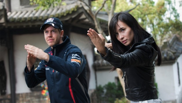 Vettel, Infiniti, Short film, Drive of the dragon, Red Bull Racing, Kung fu, Sebastian vettel, martial Arts, Celina jade, witzig, funny, komisch, lustig, video