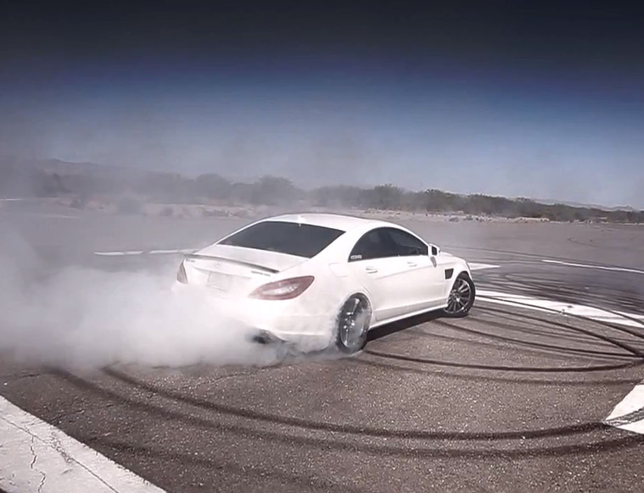 Mercedes-benz, Renntech, vivid Racing, Drift, Burnout, Rubber, CLS 63 AMG, AMG, Tuner, tuning, Movie, video, youtube,