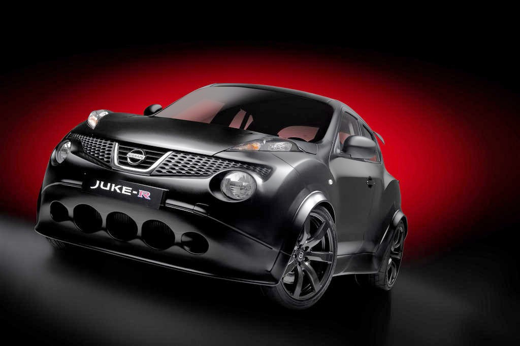 Bilder, Crossover, featured, Fotos, GT-R, Juke, mattschwarz, Nissan, Nissan GT-R, Nissan Juke, Nissan Juke R, Nissan Super Juke, NissanGt-r, NissanJuke, NissanJukeR, NissanSuperJuke, Sports Cars, SportsCars, Super Juke, SuperJuke, SUV, Kleinserie, limitiert GT-R 2012, 