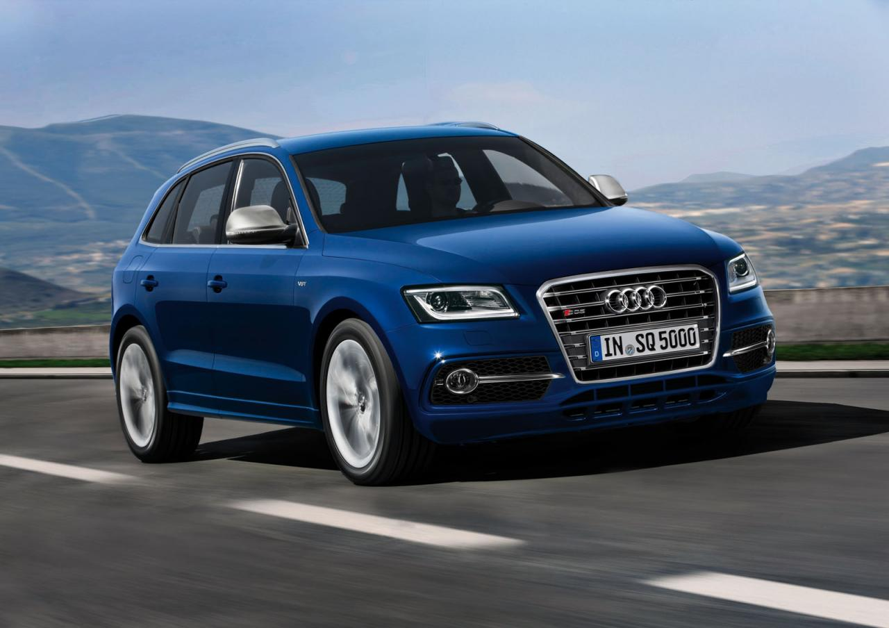 Audi, Le Mans, Q5, SQ5, Audi SQ5, SUV, twin-Turbo, bi turbo, S-line, Audi S, neus Modell, Fotos, V6, Rad, Felge, Q5 2013, neues Modell, mopf,, Modellpflege