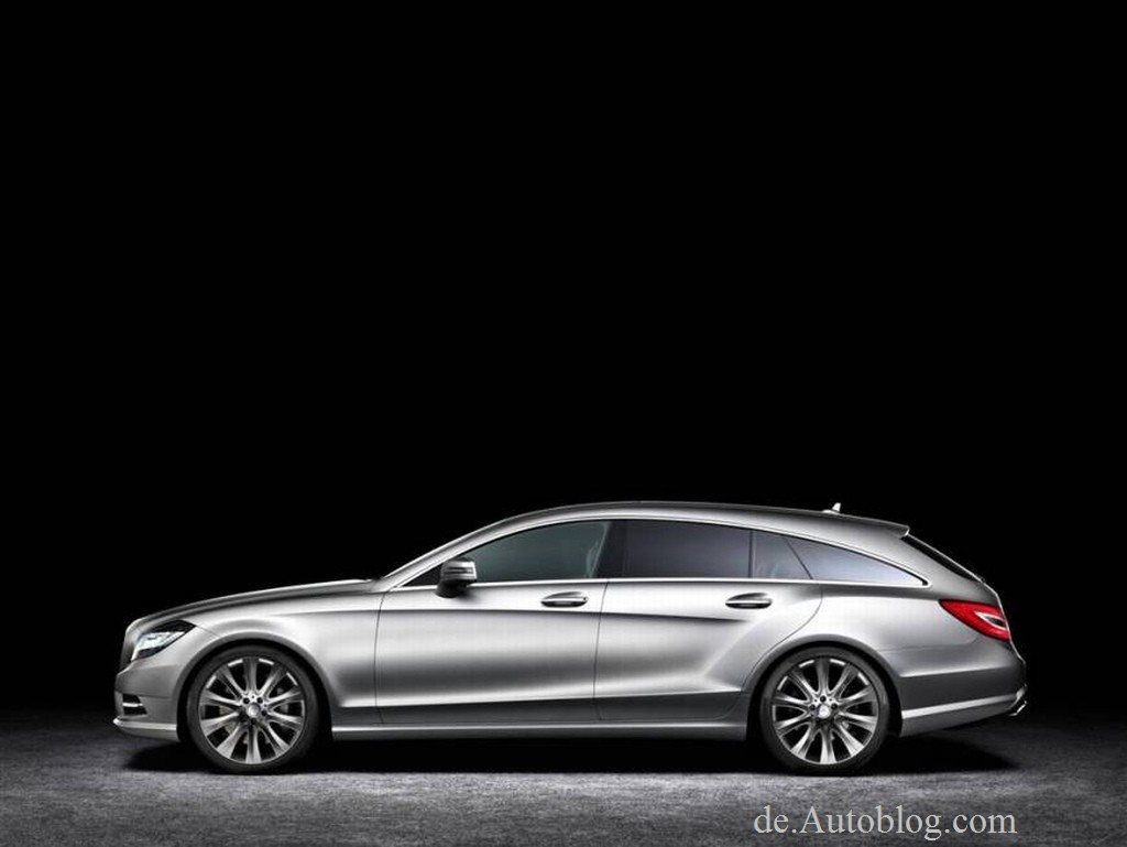 unveiled 2013 mercedes benz cls shooting brake. Black Bedroom Furniture Sets. Home Design Ideas