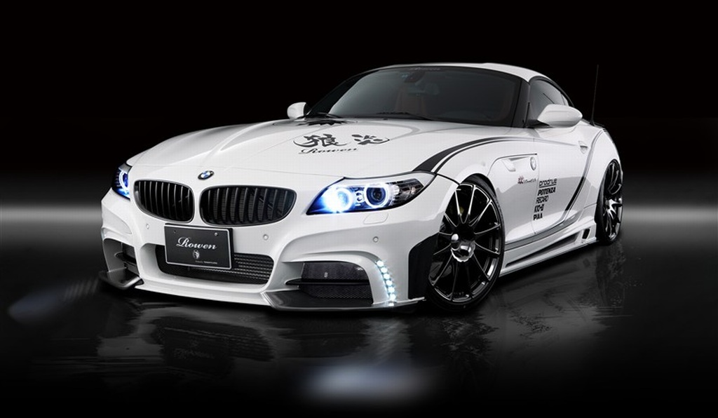 Rowen, Tuner, tuning, BMW, BMW Z4, Zubehr, carbon, Karbon, Aerodynamik-kit, body-Kit, spoiler,  
