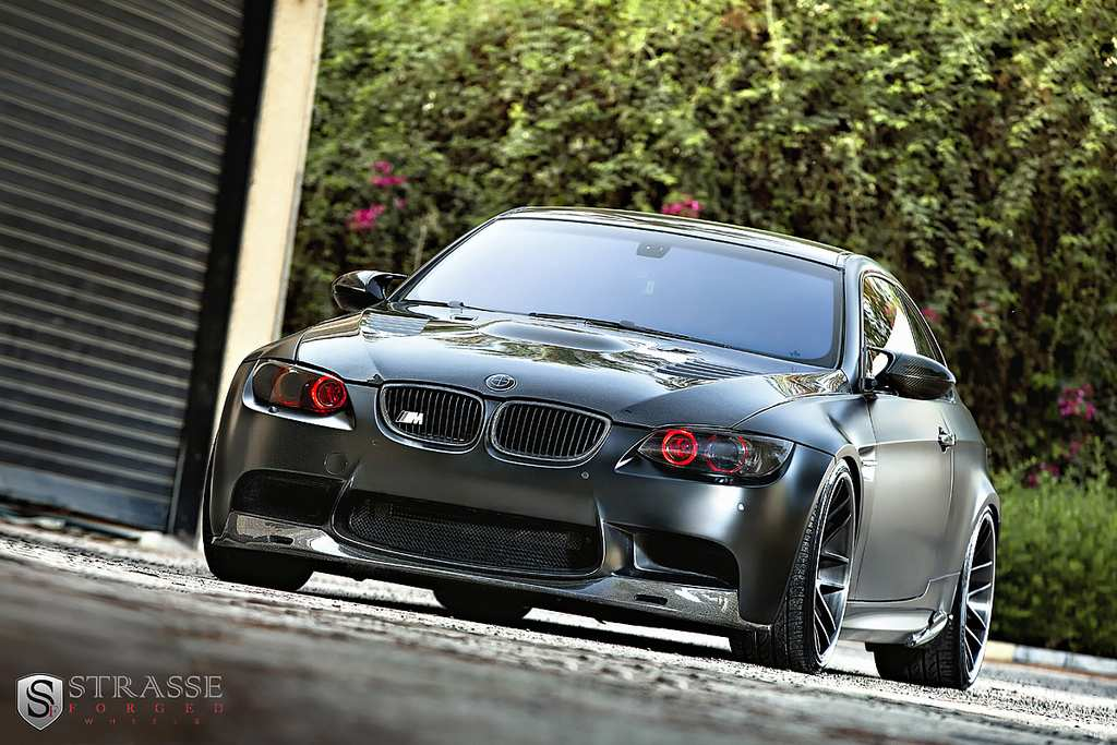 BMW, BMW m3, E92, M3, Tuner, Tuning, Frozen, Frozen black, Autowerke, Strasse, Motortuning, Akrapovic, rad, Felge, Carbon, Karbon, Styling, Spoiler, matt 
