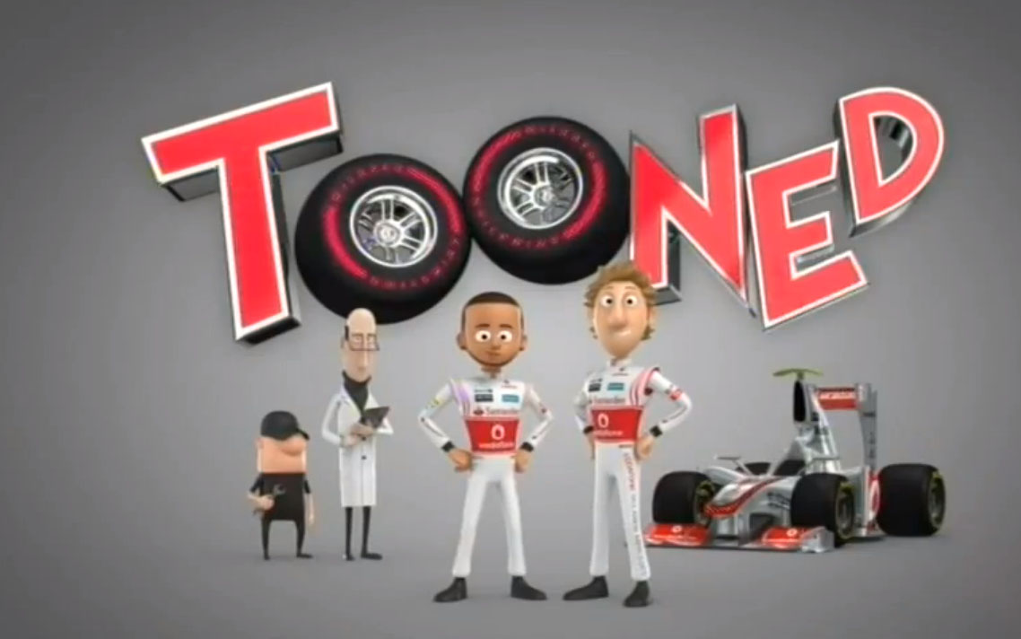 Mc Laren, Trickfilm, tooned, toons, wheel Nuts, witzig, lustig, funny, komisch video, Mc Laren Animation