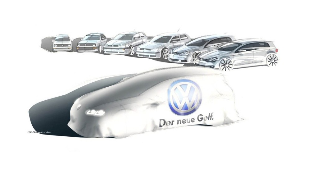 VW Golf, VW Golf VII, Golf VII, MK VII, VW Golf MK VII, Golf 7, Volkswagen, Premiere, Infos, aussattung 