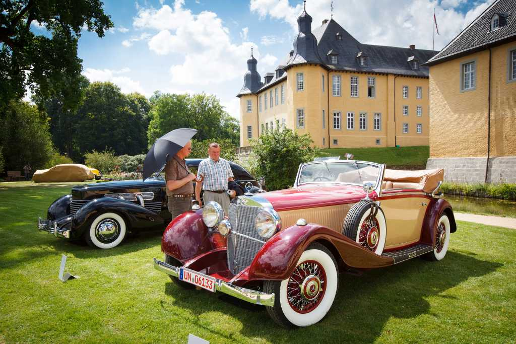 Schloss dyck, Oldtimer-treffen, classic days, Schloss dyck Classic days, Oldtimer, Youngtimer, historischer Motorsport, Motor Klassic, motor classic, 2012