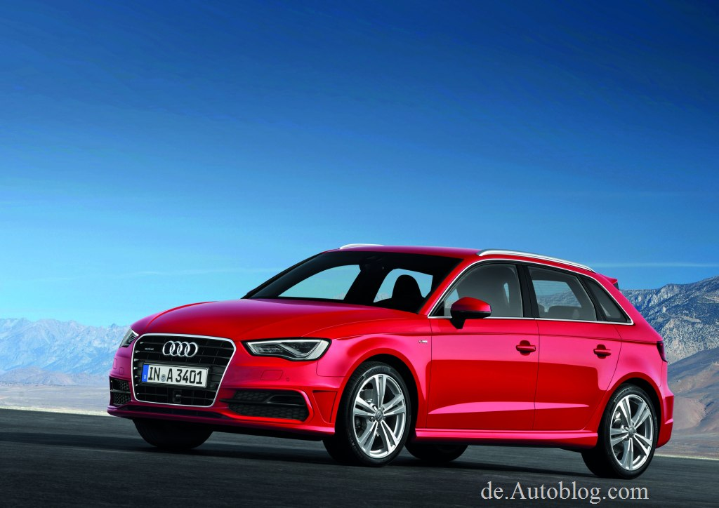 Audi A3, Audi, A3, Sportsback, Audi A3 Sportsback, der neue Audi A3 Sportsback, Audi A3 Sportsback 2013, Motoren, Aussattung, Paris, Auto Sallon, Bilder, fotos, pics