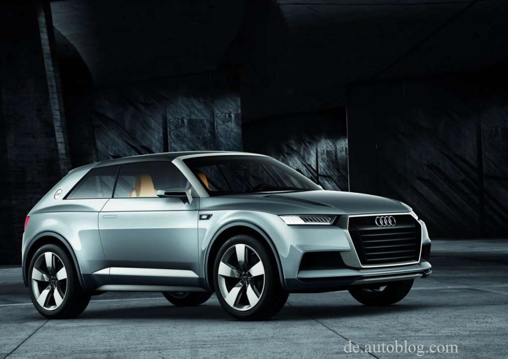 Audi Q2, Audi Crosslane, Audi Crosslane Concept, Prototyp, Auto Salon Paris, Bilder, Pics, Infos, Audi von morgen