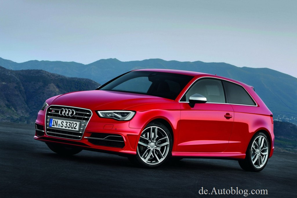 Audi, S3, Audi S3, der neue Audi S3,  8v, audi a3, s3, golf r, neuer s3, ea888, tfsi, turbo, Paris Auto salon, Bilder