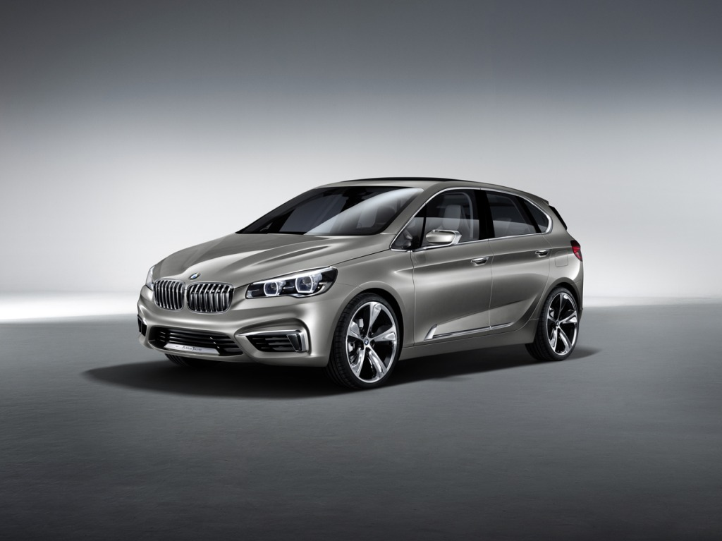 BMW, BMW van, BMW concept active tourer, BMW active tourer, PHEV, Hybrid, Puig in Hybrid, Paris auto salon, fotos, bilder, Paris, Auto salon