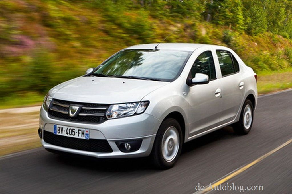 Dacia, Dacia Logan, Dacia Logan 2, der neue Dacia Logan, Dacia Logan 2013, Facelift, mopf, modellpflege, Auto Salon paris, 