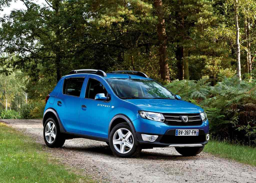 Dacia Sandero Stepway, der neue Davia Sandero stepway, Dacia Sandero Stepway 2013, sandero stepway, stepway, Paris Auto salon,  