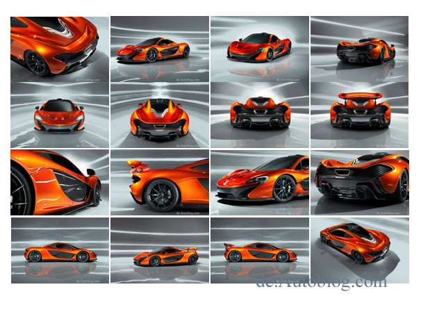 McLaren P1, P1, McLaren, F1, Supersportwagen, Sportwagen, schnellstes Auto der Welt, bester Sportwagen der welt, world's fastest car, super car, V8, KERS, Auto Salon Paris, Fotos, Bilder, 