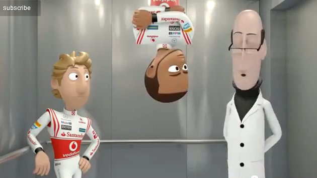 animation, Lift, Lift story,  Ep 5, Episode 5, Teil 5, F1, featured, Formel 1, Formel1, funny, Jenson Button, JensonButton, Lewis Hamilton, lustig, Mc Laren, Mc Laren Animation, Mc Laren tooned, McLaren, Tickfiilm, toon, tooned, toons, witzig