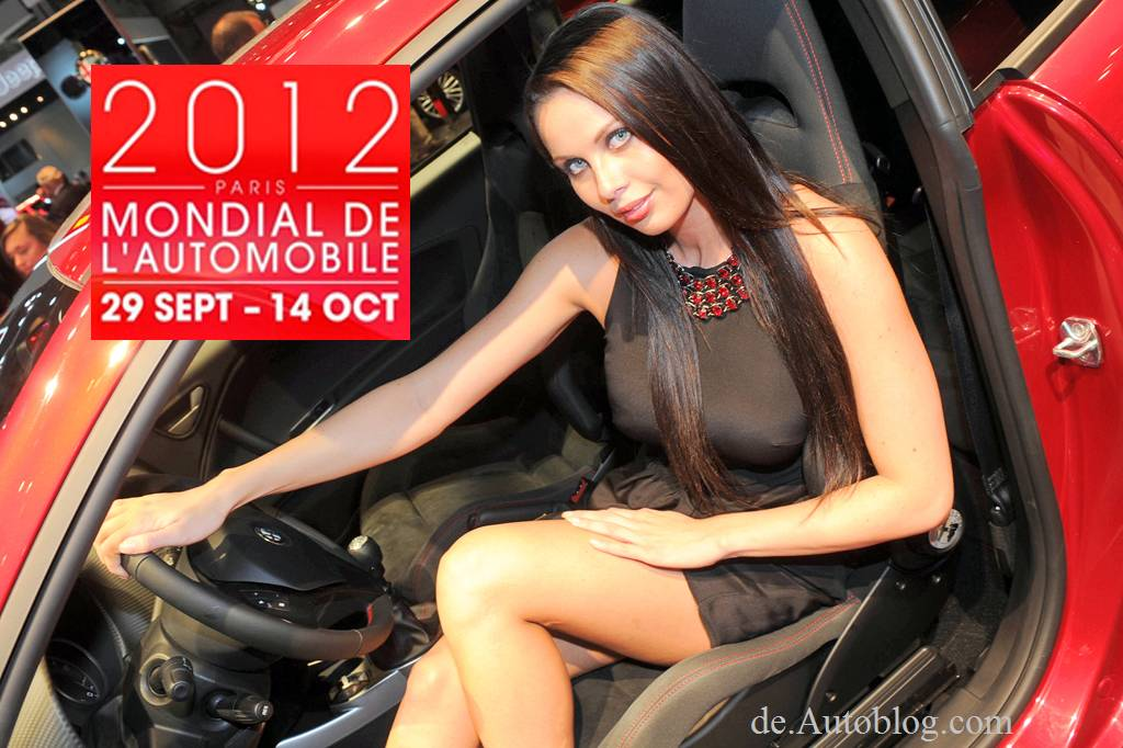 Auto Show, Auto Salon Paris, 2012, girls, sexy, hostess, die Girls von Paris, Babey, heels, wheels , Auto Salon paris 2012, Paris Motor Show 2012,  