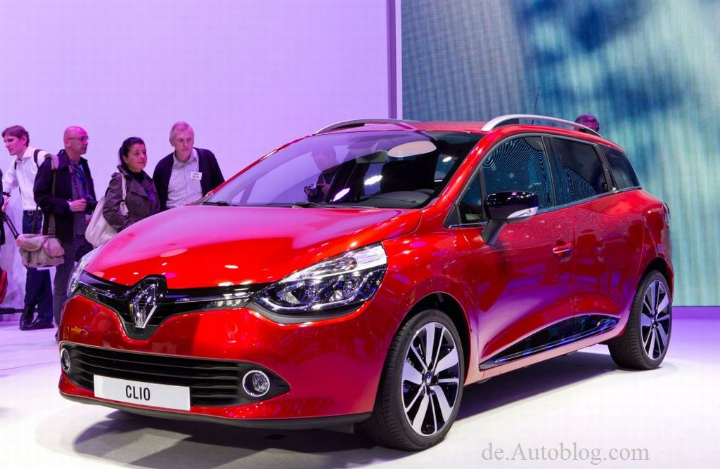 Paris auto salon, 2012, motor show, Renault Clio, Renault Clio IV, Renault Clio Estate, Renault Clio Kombi, Renault Clio Grandtour 2013