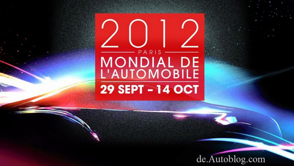 Paris Auto salon, Vorbericht, Highlights, Motor show, automesse, Mondial de l'Automobile, Bilder, Vorgucker, A-z, guide, Premiere, Debüt, Paris Auto salon 2012, 2012, 2013, facelift, VW Golf VII,